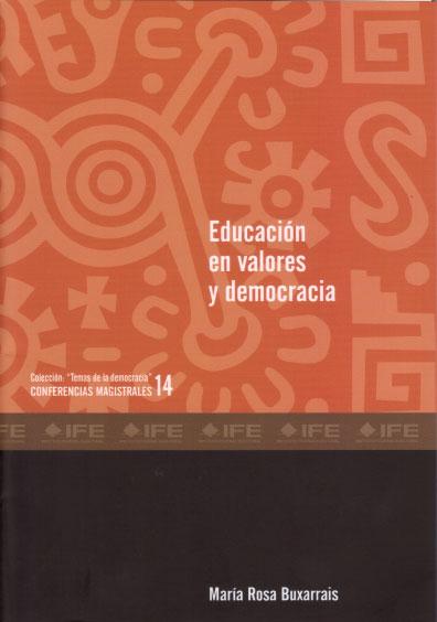 Educación en valores y democracia