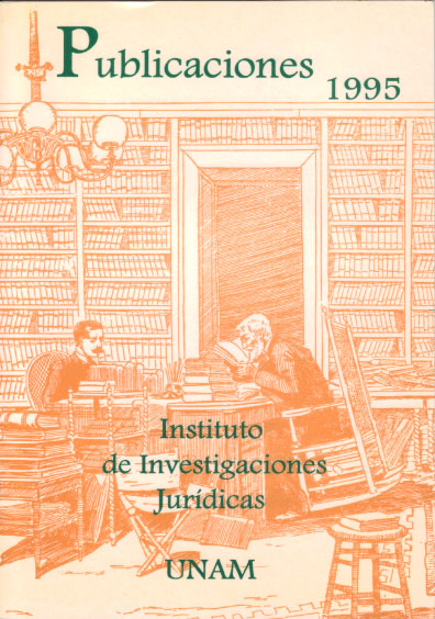 Publicaciones 1995. Instituto de Investigaciones Jurídicas, UNAM