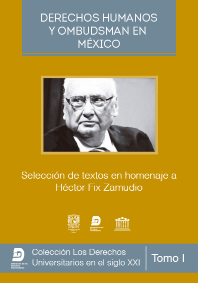 Derechos humanos y ombudsman en México. Selección de textos en homenaje a Héctor Fix-Zamudio