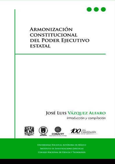 Armonización constitucional del Poder Ejecutivo estatal