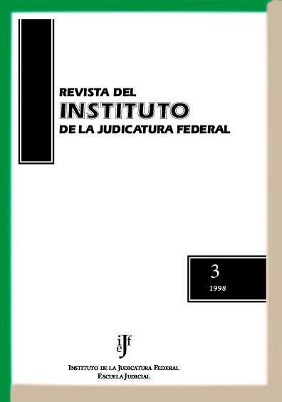 <b><i>Revista del Instituto de la Judicatura Federal, número 3, 1998</b></i>