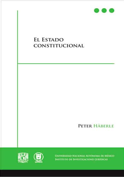 El Estado constitucional, 2a. edición