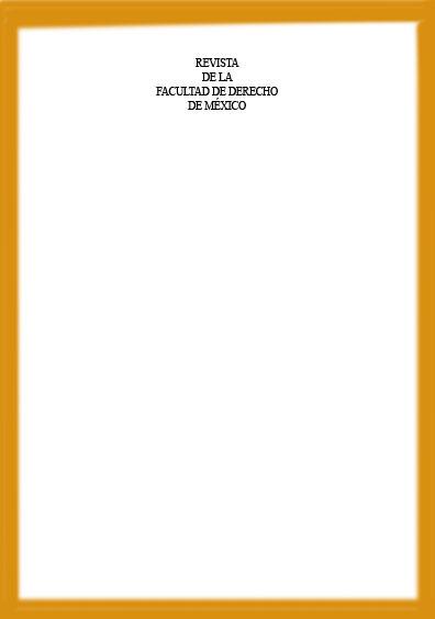 <b>Revista de la Facultad de Derecho de México, tomo LXIV, número 263, enero-junio</b>