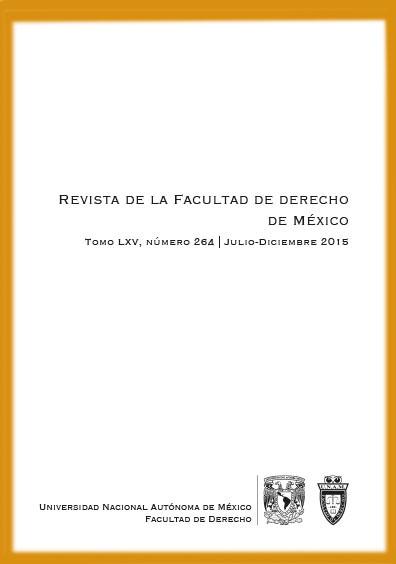 <b>Revista de la Facultad de Derecho de México, tomo LXIV, número 264, julio-diciembre</b>