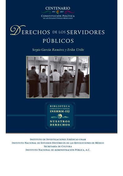 Derechos de los servidores públicos. Colección Nuestros Derechos