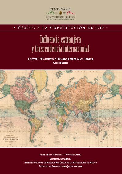 Influencia extranjera y trascedencia internacional. Colección INEHRM