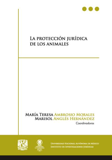 La protección jurídica de los animales