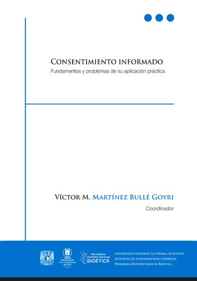 Consentimiento informado. Fundamentos y problemas de su aplicación práctica