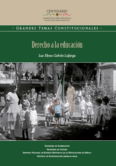 Derecho a la educación. Colección INEHRM