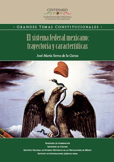 El sistema federal mexicano: trayectoria y caracterísiticas. Colección INEHRM