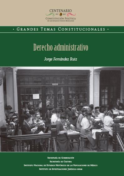 Derecho administrativo. Colección INEHRM