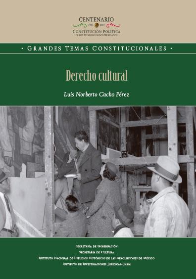Derecho cultural. Colección INEHRM